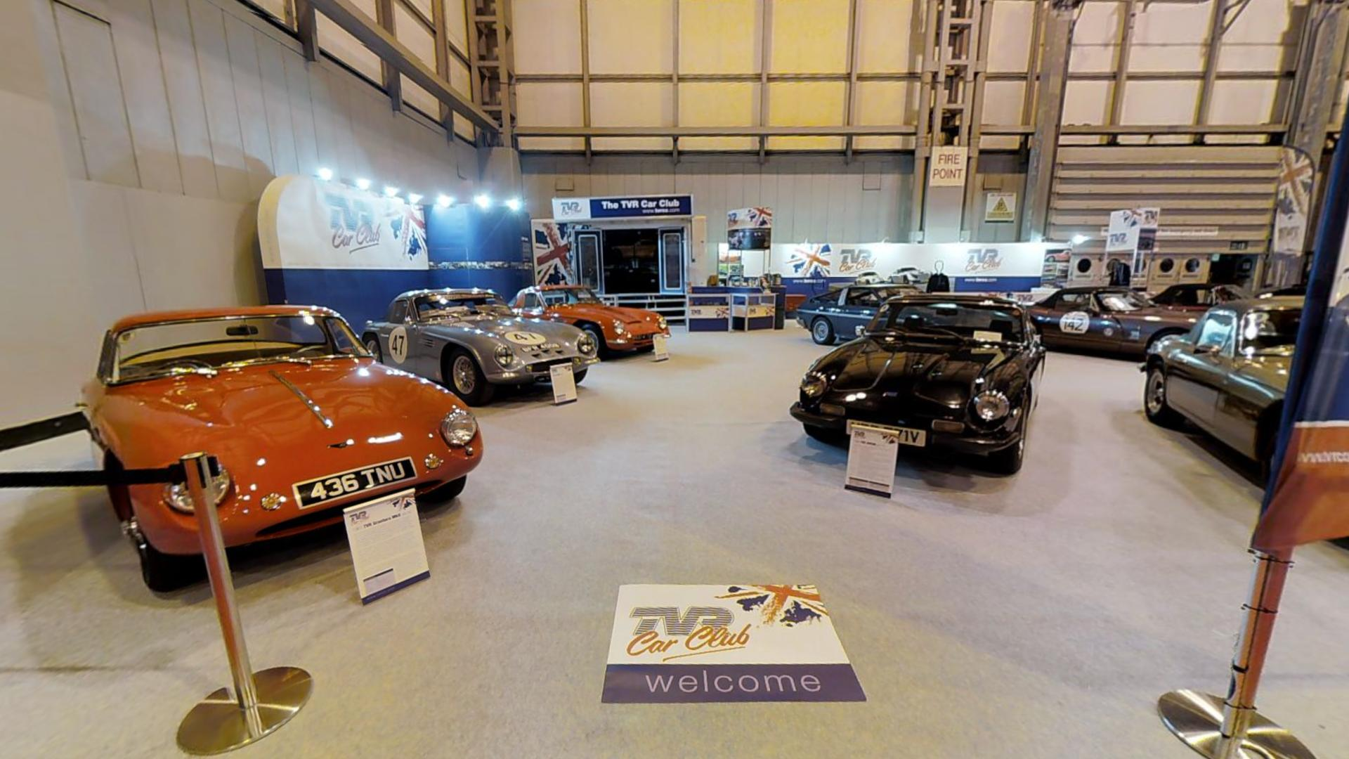 THE CLASSIC MOTOR SHOW 2016 Tur Virtual